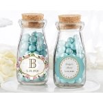 Personalized Tea Time Milk Jar (Set of 12)