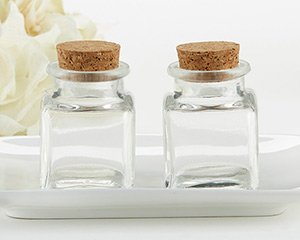 Petite Square Glass Favor Jar - DIY (Set of 12) image
