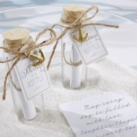 'Message in a Bottle' Glass Favor Bottles (Set of 12)