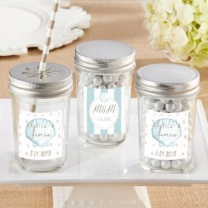 Personalized Beach Tides Mason Jar (Set of 12) image