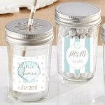 Personalized Beach Tides Mason Jar (Set of 12)