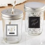 Personalized Classic Mason Jar Favors (Set of 12)