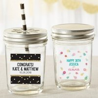 Personalized Party Time Mason Jar (Set of 12)