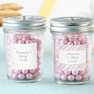 Personalized So Sweet Mason Jar Favors (Set of 12) image