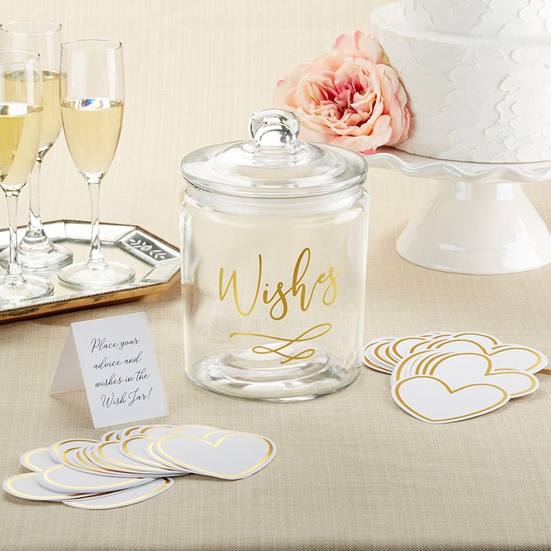 Wish Jar with Heart Shaped Cards image