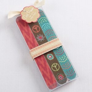 Boho Girl Power Nail File Favors image