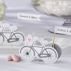 Vintage Inspired Bicycle Favor Boxes (Set of 24) image