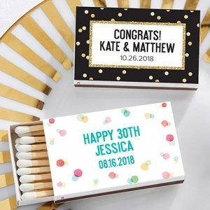 Personalized Party Time Matchboxes (Set of 50) image