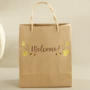 Gold Foil Fall Welcome Bag (Set of 12) image