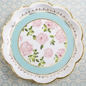 Tea Time Whimsy Paper Plates (Set of 8) image