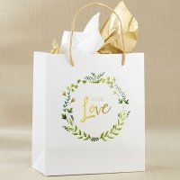 With Love Botanical Garden Gift Bag (Set of 12)