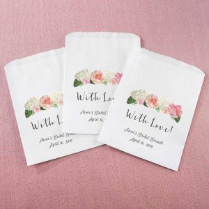 Personalized White Goodie Bag - Brunch (Set of 12) image