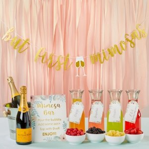 Mimosa Bar 10-Piece Kit - Gold Glitter image