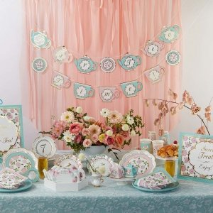 Tea Time Whimsy  Par-Tea  Time Party Kit image