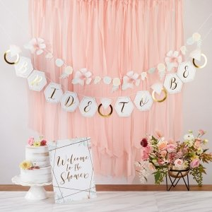 Geometric Floral Bridal Shower Kit image
