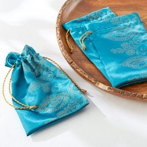 Sapphire Jewel Indian Favor Bags (Set of 12) image