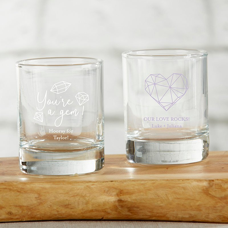 Personalized Elements 2 oz. Shot Glass/Votive Holder image