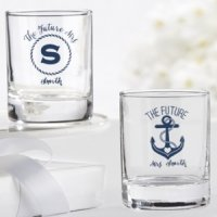 Personalized Nautical Bridal Shower Shot Glass/Votives