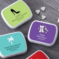 Personalized Bridal Shower Mint Tins (165 Designs)