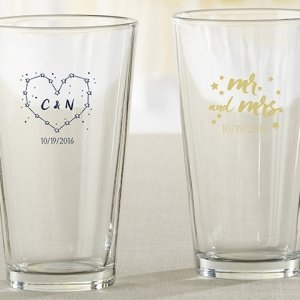 Personalized Under the Stars Pint Glass image