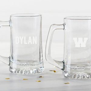 Personalized Engraved 15 oz Beer Stein image