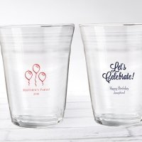 Personalized Birthday Party Cup Glass Favors