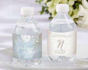 Personalized Water Bottle Labels - Ethereal image
