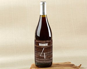 Winter Wine Label Table Numbers (1-20) image