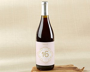 Modern Romance Wine Label Table Numbers (1-20) image