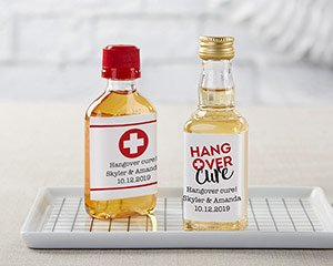 Personalized Mini Liquor Labels - Hangover image