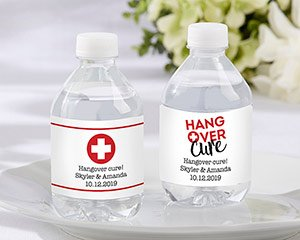 Personalized Water Bottle Labels - Hangover image
