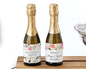 Personalized Mini Wine Bottle Labels - Brunch image