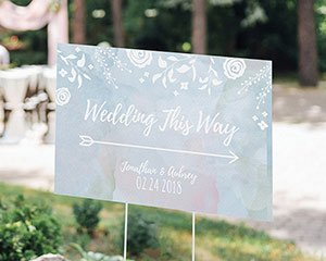 Personalized Ethereal Dream Directional Sign (18x12) image