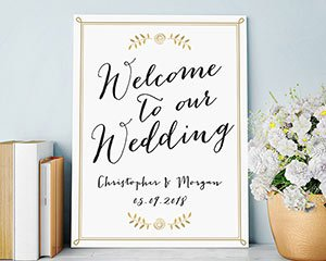 Welcome to our Wedding Personalized Poster (18x24) image