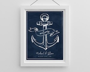 Personalized Poster (18x24) - Nautical image