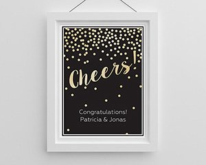 Personalized Cheers! Poster (18x24) image