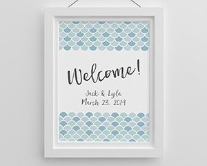 Seaside Escape Welcome Personalized Poster (18x24) image