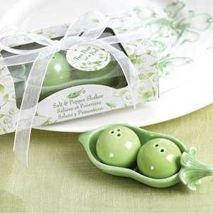 Twin Two Peas in a Pod Baby Shower Shaker Favors image