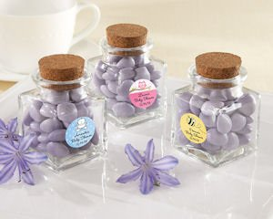 Petite Treat Personalized Baby Favor Jars (Set of 12) image