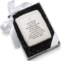 Edible Cookie Cards - Wedding Invite