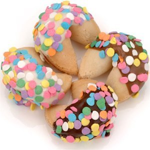 Confetti Sprinkled Gourmet Fortune Cookies image