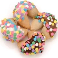 Confetti Sprinkled Gourmet Fortune Cookies