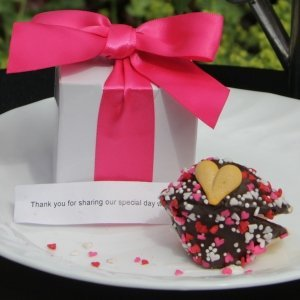 Gift Boxed Wedding Fortune Cookie Favor image