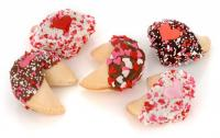 Romantic Gourmet Fortune Cookie Favors