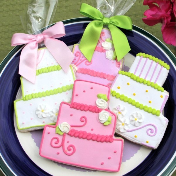 wedding cake cookie favors wedding cake cookie favors 8598