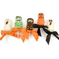 Spooky Halloween Marshmallow Pops - Set of 5