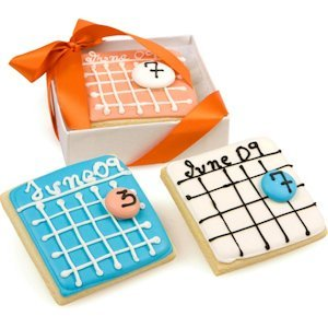 Savor the Date Sugar Cookie Favors image