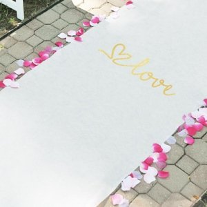 Love Wedding Aisle Runner image
