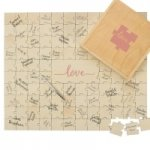 Love Design Wedding Guestbook Puzzle