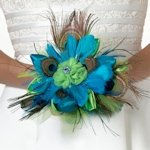 Peacock Flair Bouquet